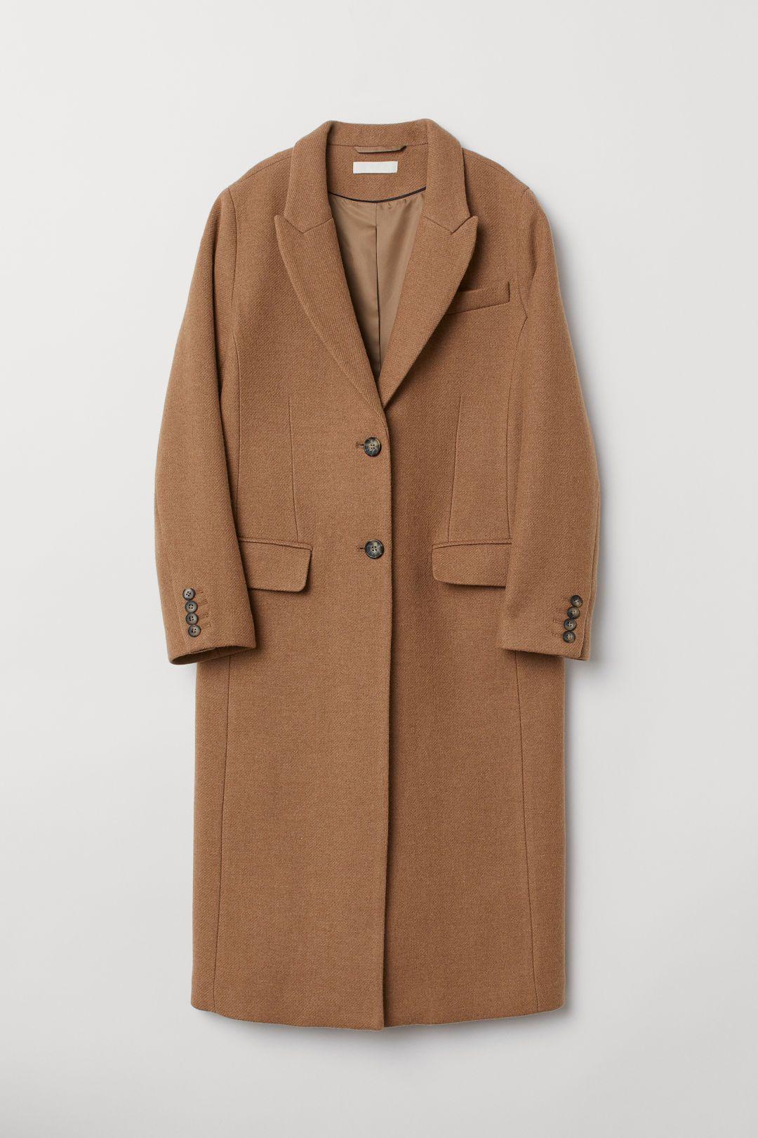 c649416ec Wool-blend Coat in 2019 | Fall/Christmas Wish List | Camel coat ...