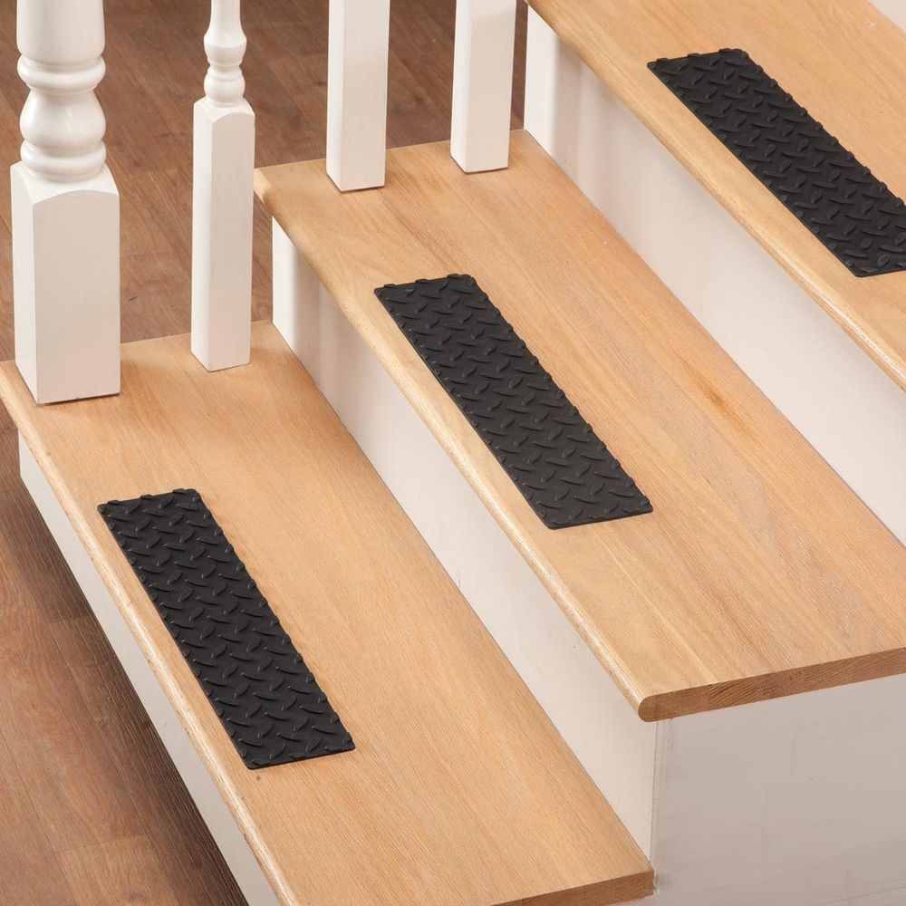 Best Set Of 3 Pcs Stair Treads Rubber Step Mats Indoor Outdoor 400 x 300