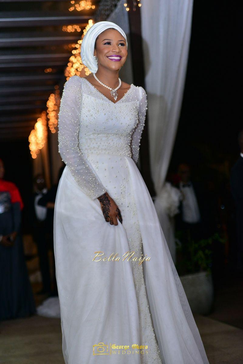 Maryam Augie Abdulmumin Jibrins Outdoor Abuja Wedding George