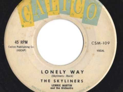 """""""Lonely Way"""" ~ The Skyliners (1959) Calico #109"""