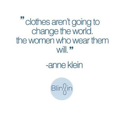 You're amazing—in everything you wear! #fashionquote #qotd #fashion #quotes #wisewords #girlpower #whorunstheworld #girls