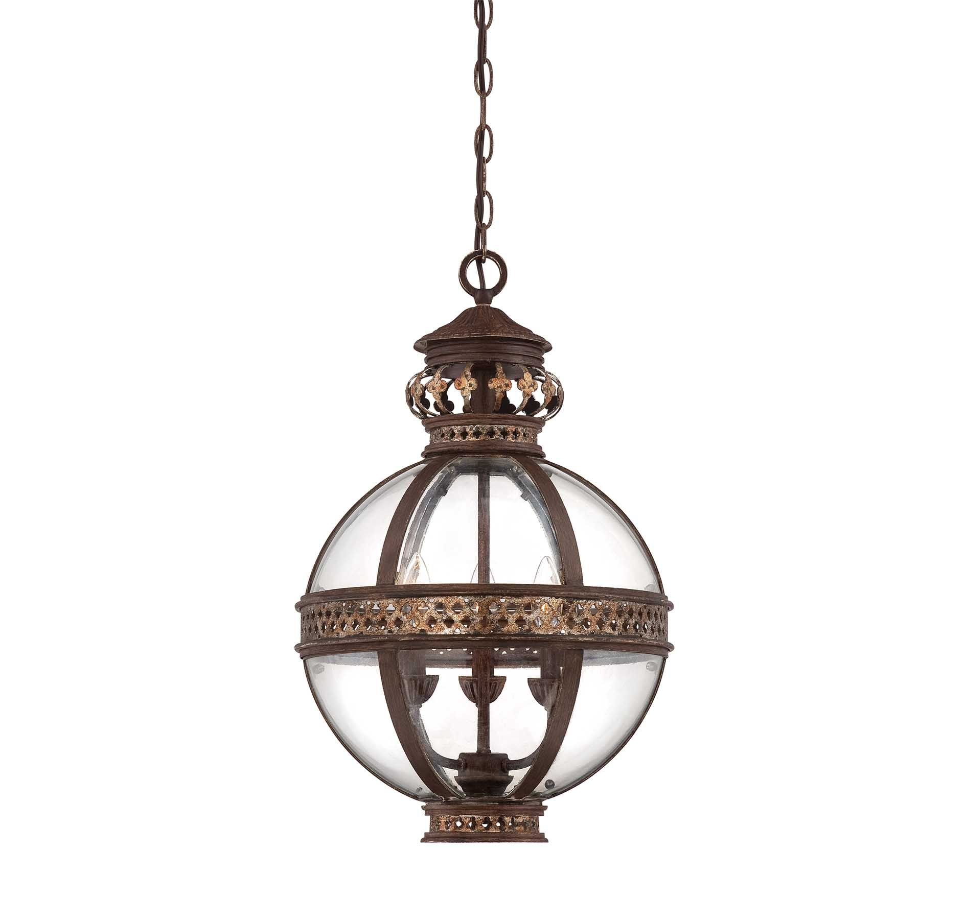 Strasbourg small french globe pendants products for Small hanging light fixtures
