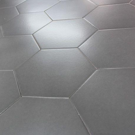Carrelage Hexagonal Sol Et Mur Pattern Gris Slate Carrelage