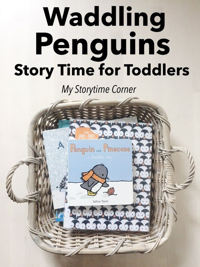 Waddling Penguin Story Time for Toddlers | My Storytime