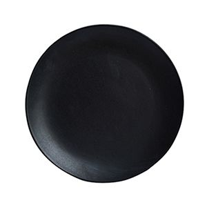 assiette dessert en c ramique graphite et noir earth dassie artisan cuisine pinterest. Black Bedroom Furniture Sets. Home Design Ideas