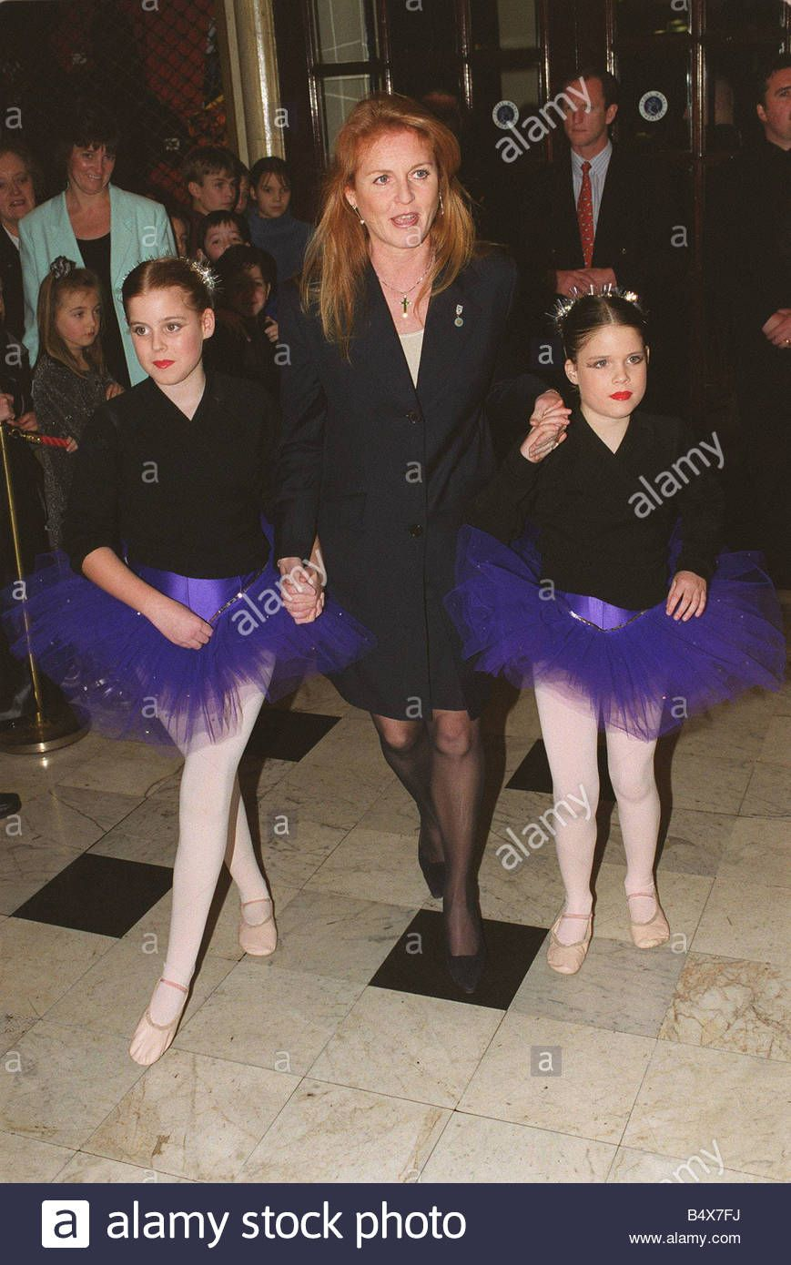 Download this stock image Duchess of York with Princess