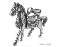 Anhänger Pferd  316 L Edelstahl inkl. Kette im Etui