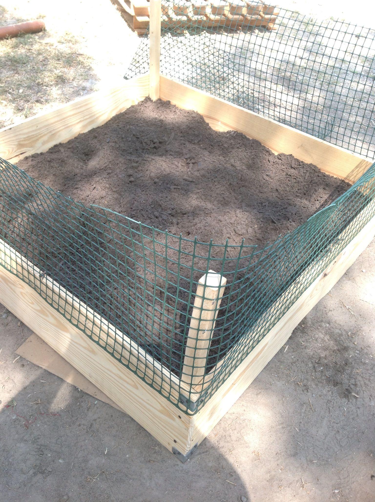 Inexpensive raised garden beds gardening garden beds - Cheap flower bed ideas ...