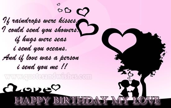 Cute And Romantic Happy Birthday Wishes For Boyfriend Husband