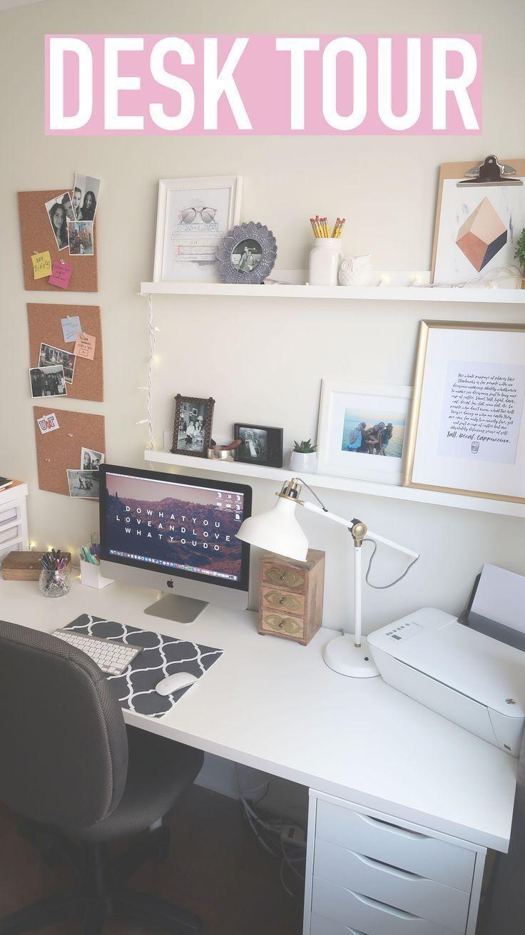 Desk Tour Organisieren Sie Ihren Schreibtisch Tipps Dekor