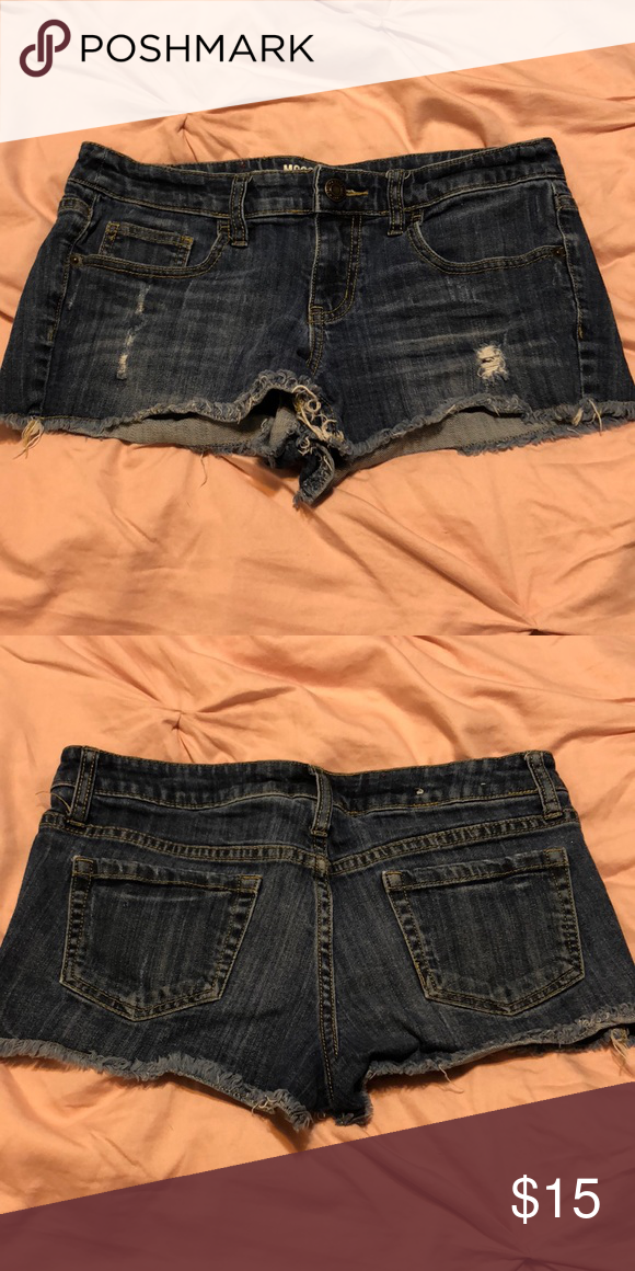 1e2f65b5b Mossimo Juniors Short Shorts Size 11 Excellent like brand new condition Mossimo  Supply Co. Shorts Jean Shorts