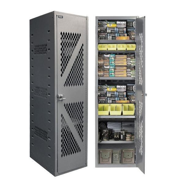 secureit tactical ammo cabinet model 1824 shelves locker rh pinterest com gun security cabinet or safe