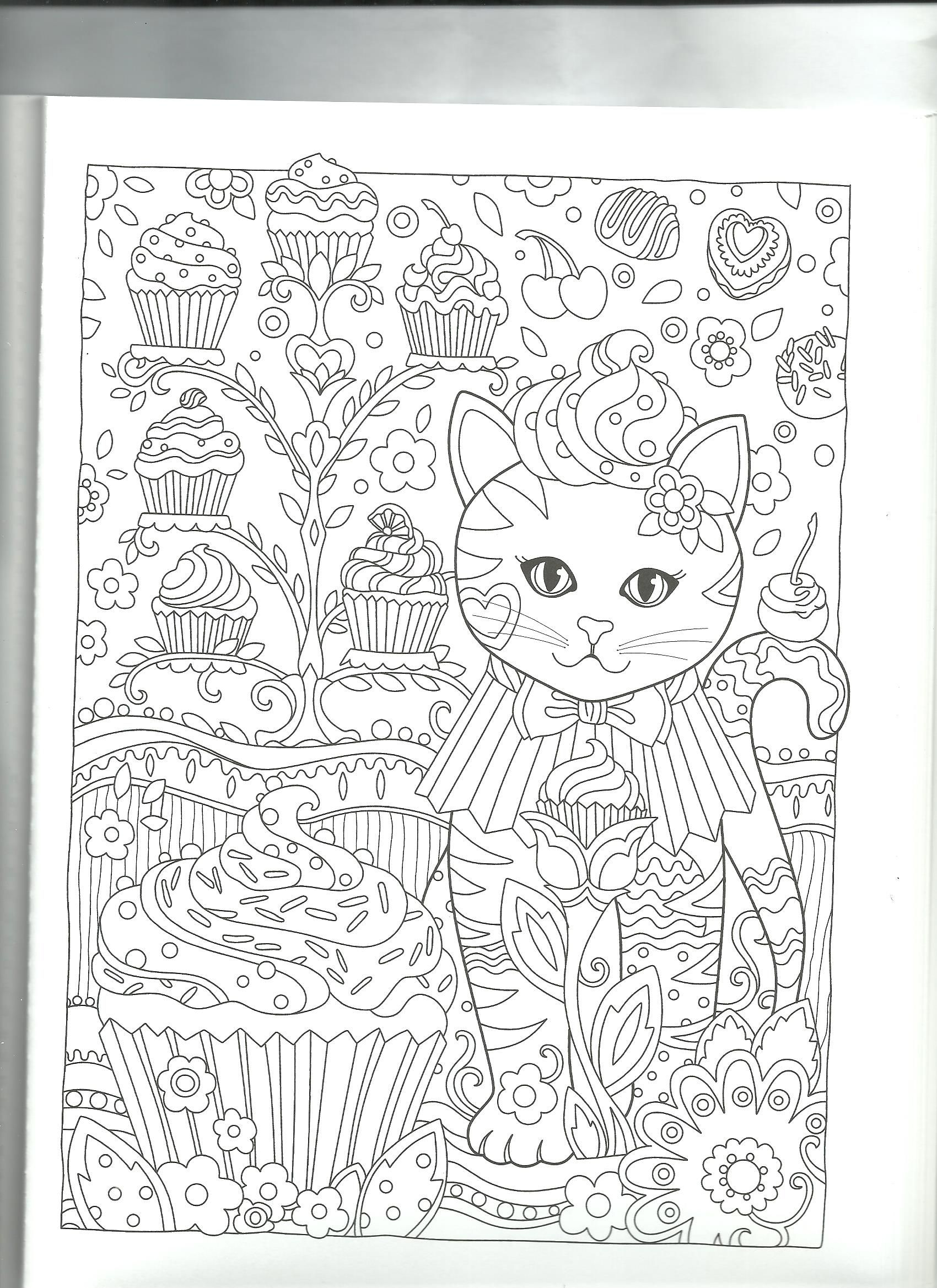 Cupcake malen pinterest coloring pages adult coloring and color