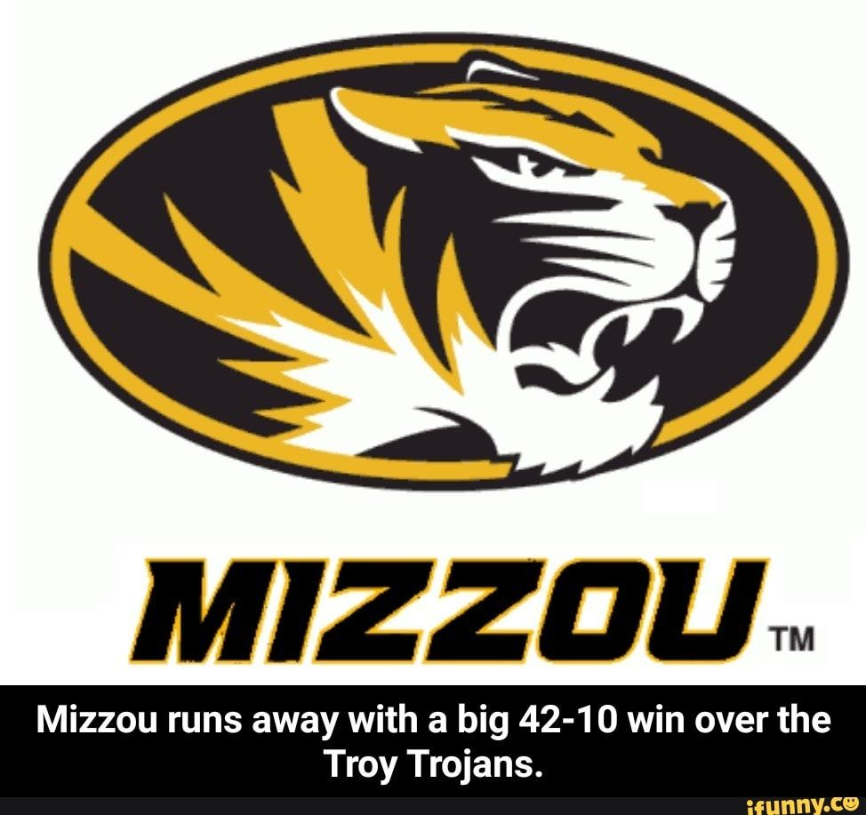 Mizzou runs away with a big 4210 win over the Troy