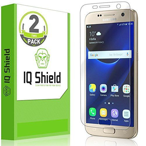 #cellphone #accessries Galaxy S7 Screen Protector, IQ Shield® LiQuidSkin (2-Pack) Full Coverage Screen Protector for Galaxy S7 HD Clear…