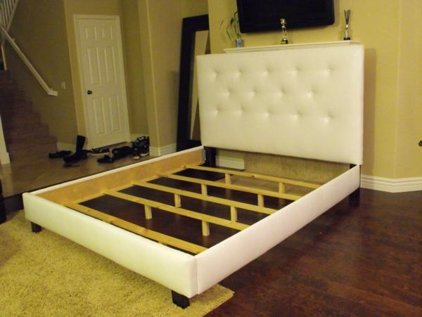 Ana White | Build a Morris Upholstered Bed - California King | Free ...