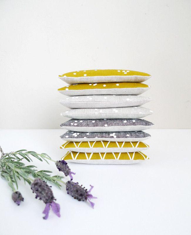 Linen Lavender Sachets - Cotton & Flax