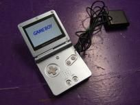 Nintendo Gameboy Advance Sp Gba Pearl Light Blue Limited Color Great