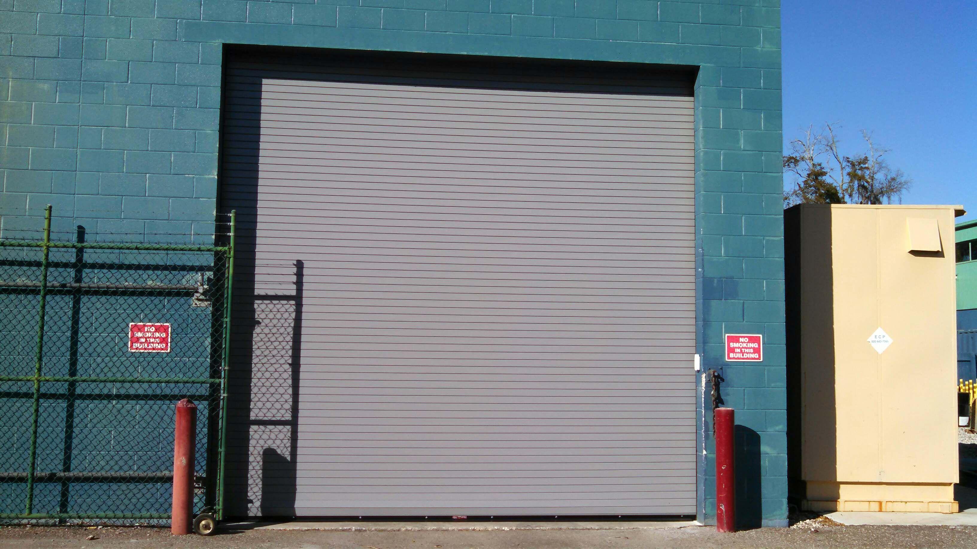 Beautiful Overhead Rolling Steel #Door installed in #T&a by Overhead Door of T&a Bay & Beautiful Overhead Rolling Steel #Door installed in #Tampa by ...