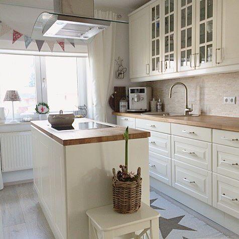 Sunday Morning und die☀️scheint☺ #landhaus#landhausküche#küche - küche ikea landhaus