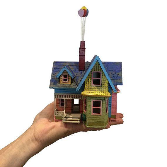 Carls Abode Mini Model Kit Up House Cake Topper