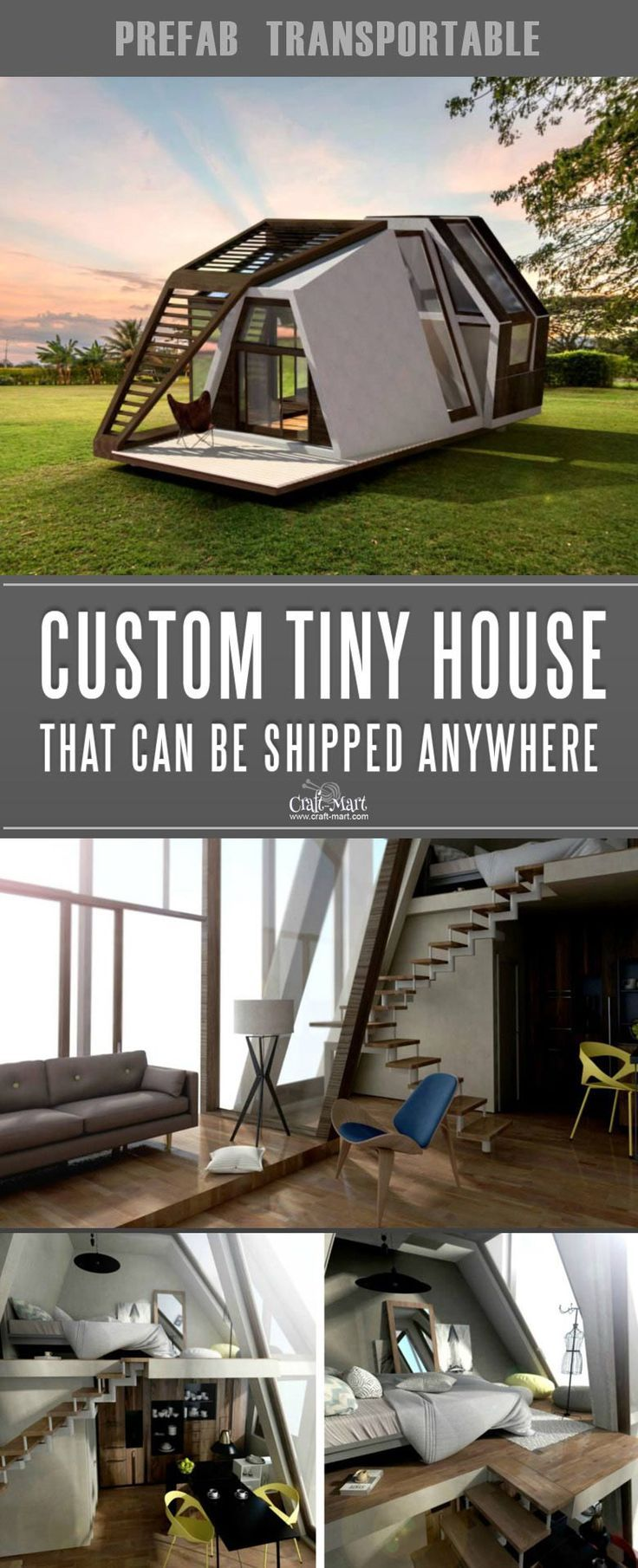 Custom tiny house that you can order from anywhere in the world look at these absolutely awesome houses afford some are sustainable also high tech prefab most of us share all your rh pinterest