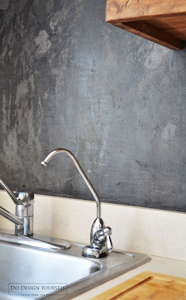 Six Alternatives To The Tile Backsplash That Are Practical Dodesignyourself Rustic Kitchen Backsplash Stove Backsplash Cheap Kitchen Backsplash