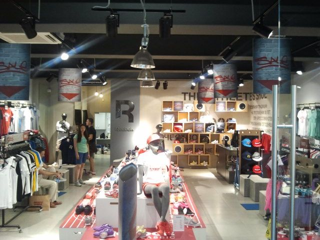 new items limited price cheap for sale Reebok Classic store in Russia. Store was space planned by ...