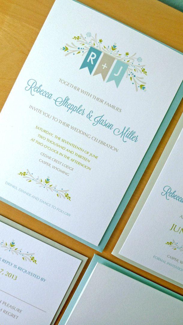 Rustic Wedding Invitations Sticks And Twigs Wedding Invitations