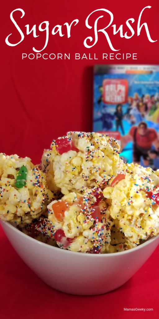 Sugar Rush Popcorn Balls Recipe & Comfy Princess Movie
