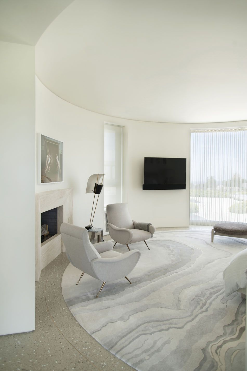 Trousdale Estates Contemporary Home by Dennis Gibbens Architects (3)