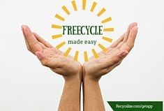 New Feature: join, list, and connect with local freecycle groups all from one easy app. recycalize.com/getapp