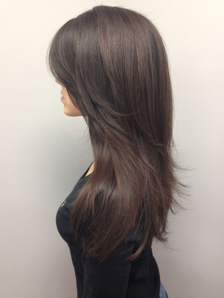 Beautiful Long Layered Haircut Longlayers Knoxvillesalon