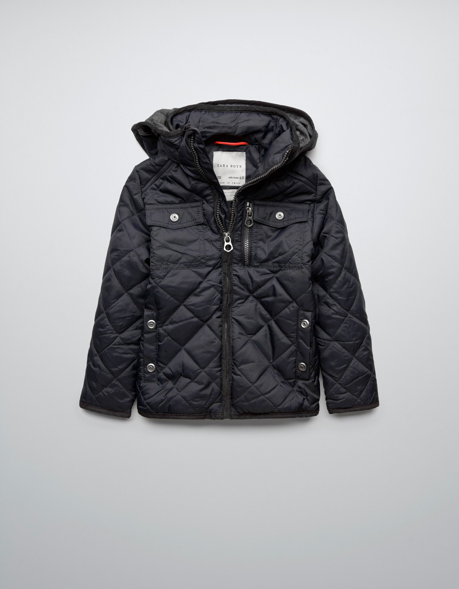 89d1c127c703 QUILTED JACKET - ZARA