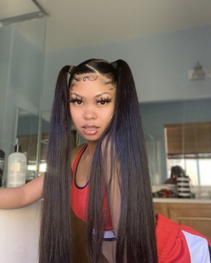 Xclusivejay In 2020 Hair Baddie Hairstyles Straight Hairstyles
