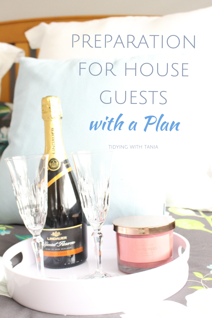 Planning For House Guests How To Plan Clean House Weekly Meal