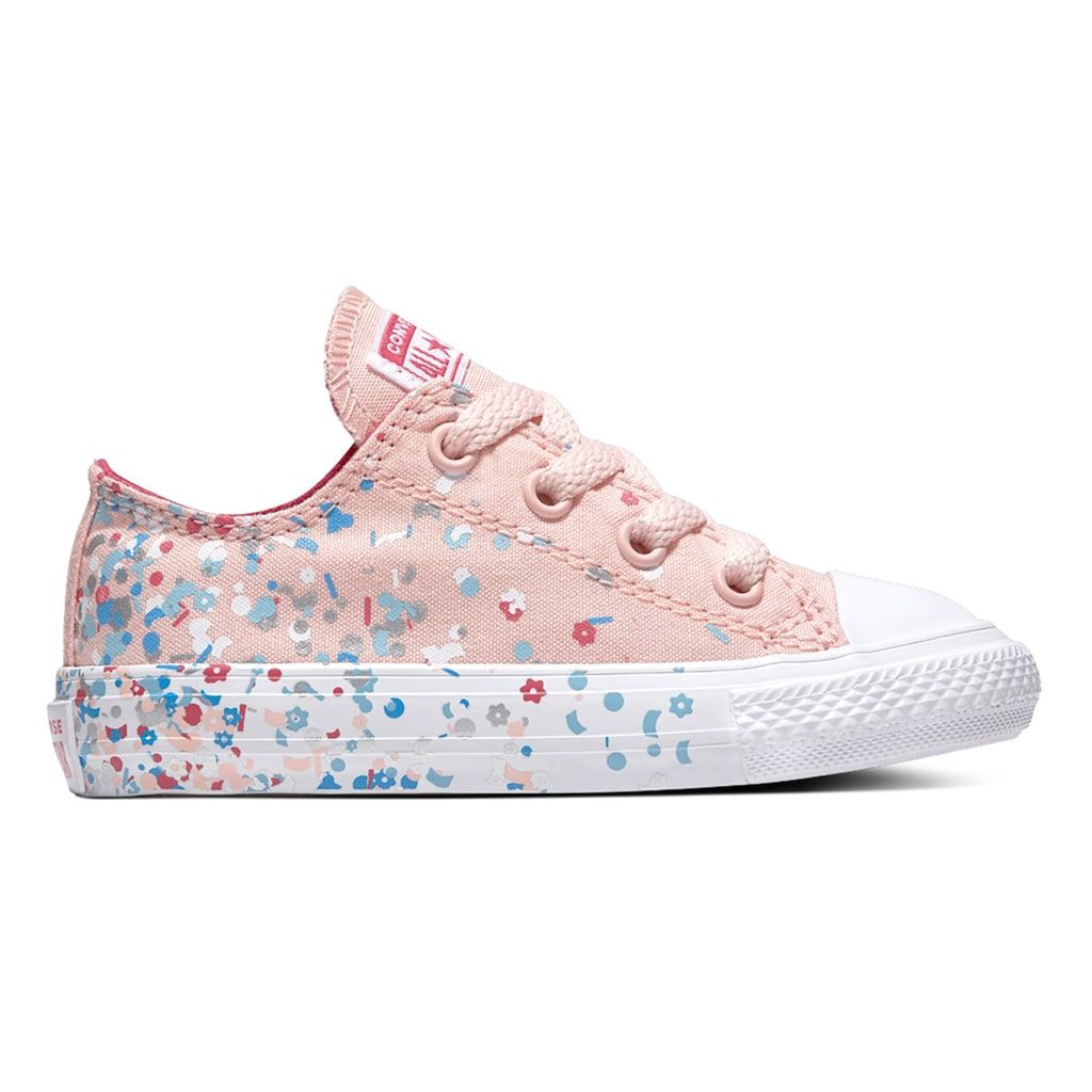 02c45be2499d Toddler Girls  Converse Chuck Taylor All Star Birthday Confetti High Top  Shoes
