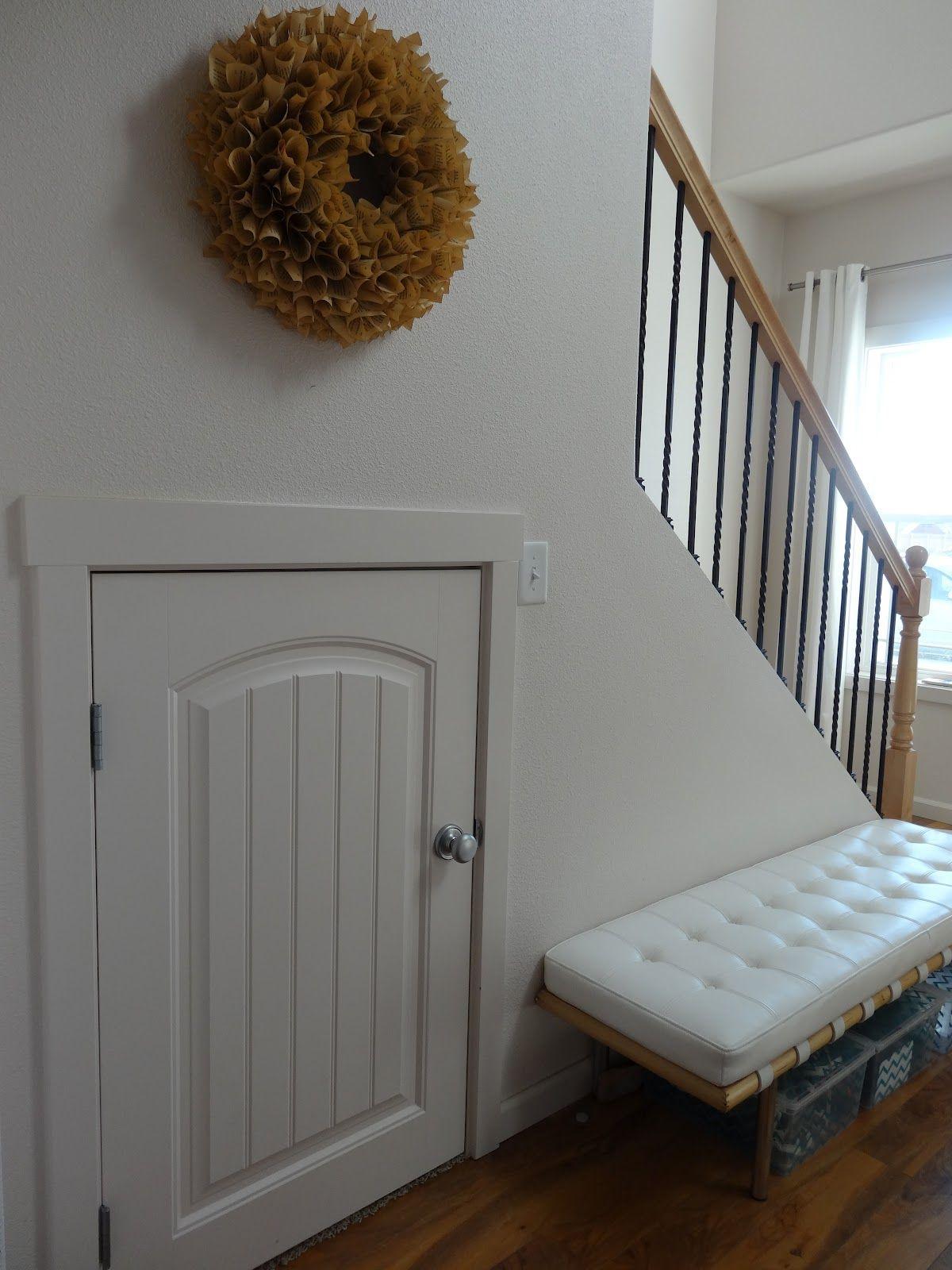 Half Door Half Door Leads To Extra Storage Room