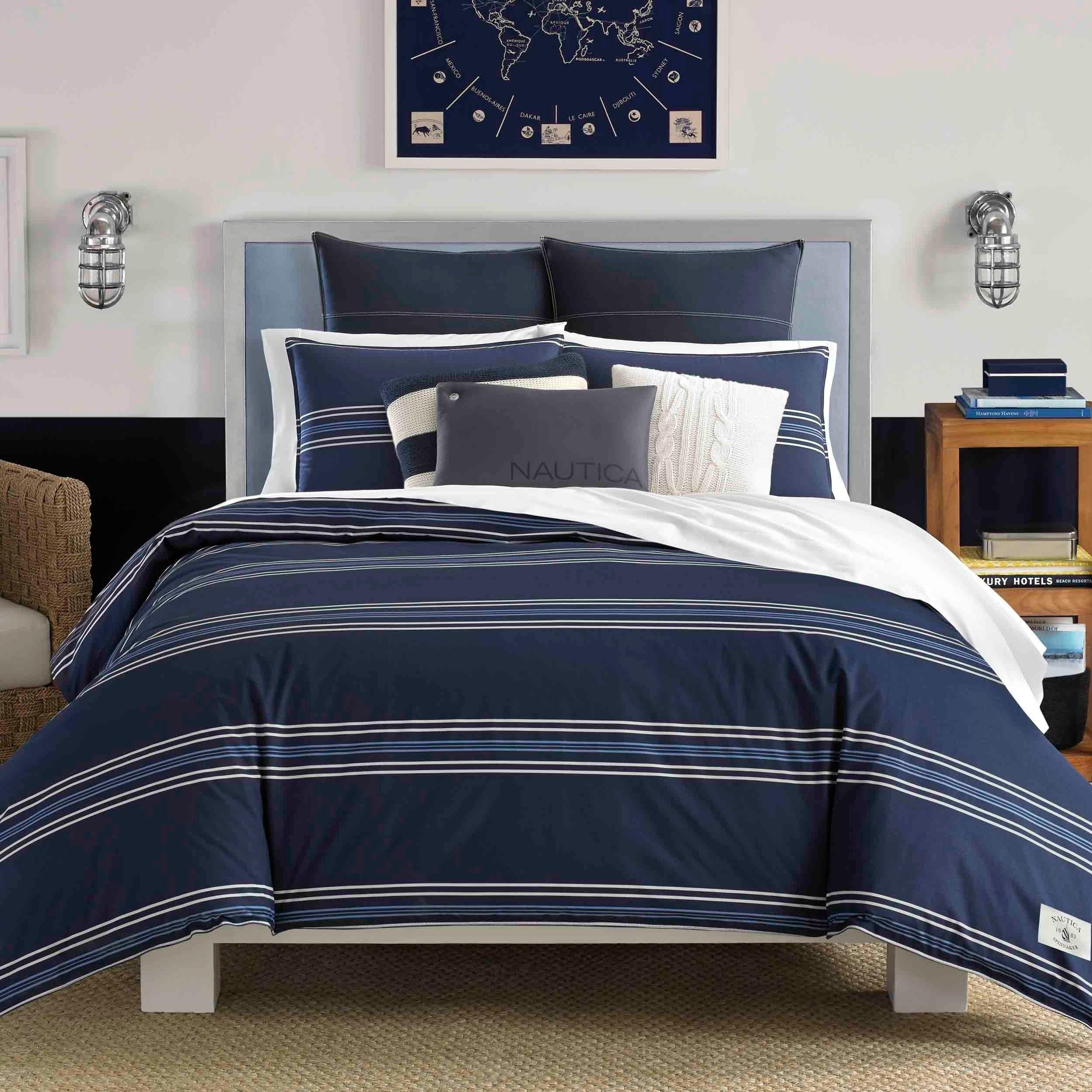 Nautica Acton 3 Piece King Size Comforter Set As Is Item 3