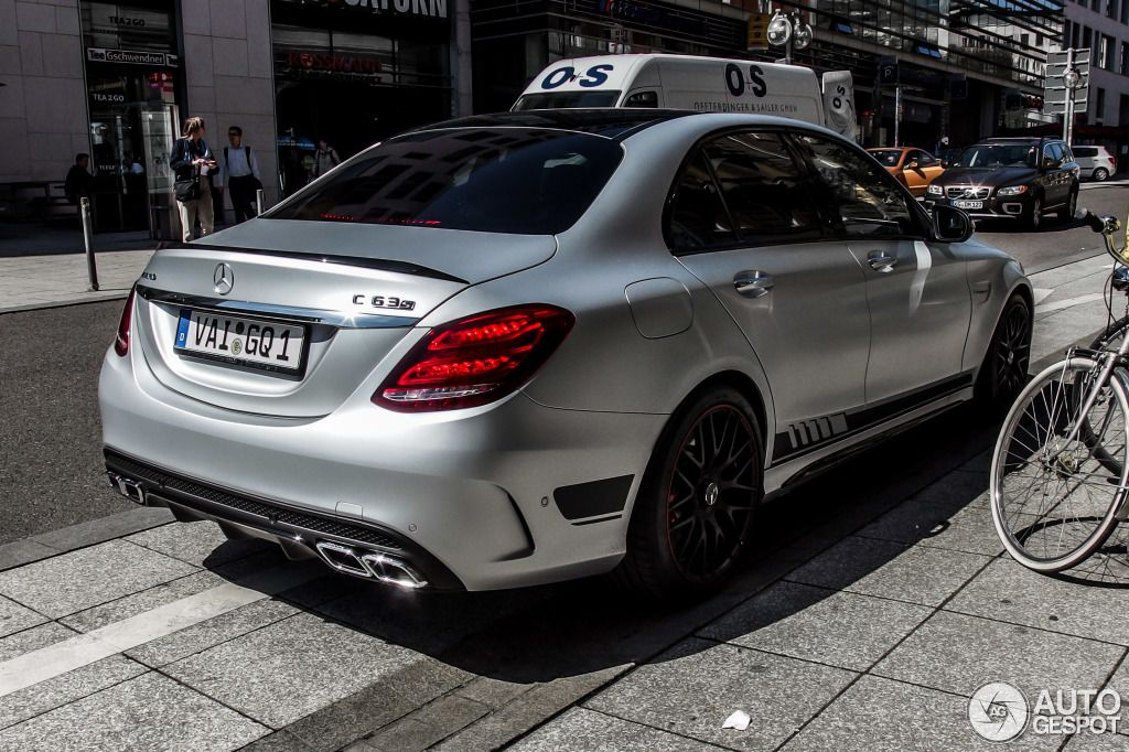 Mercedes-AMG C 63 S W205 Edition 1 3 | Cars | Pinterest ...
