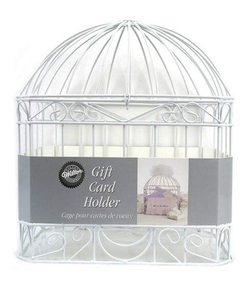 Wilton Wedding Reception Gift Card Holder Cage - White | Reception ...
