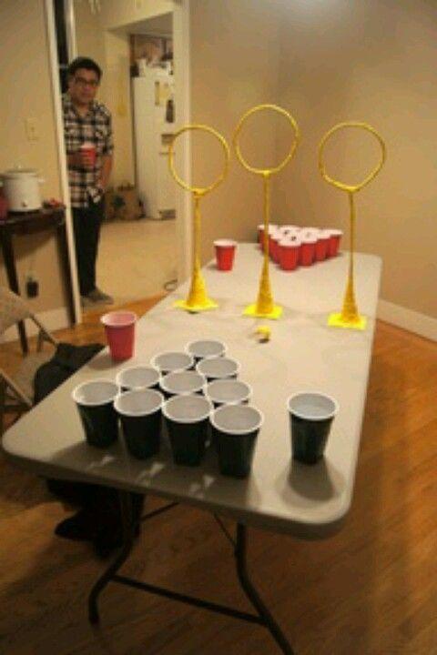 Quidditch Pong!!