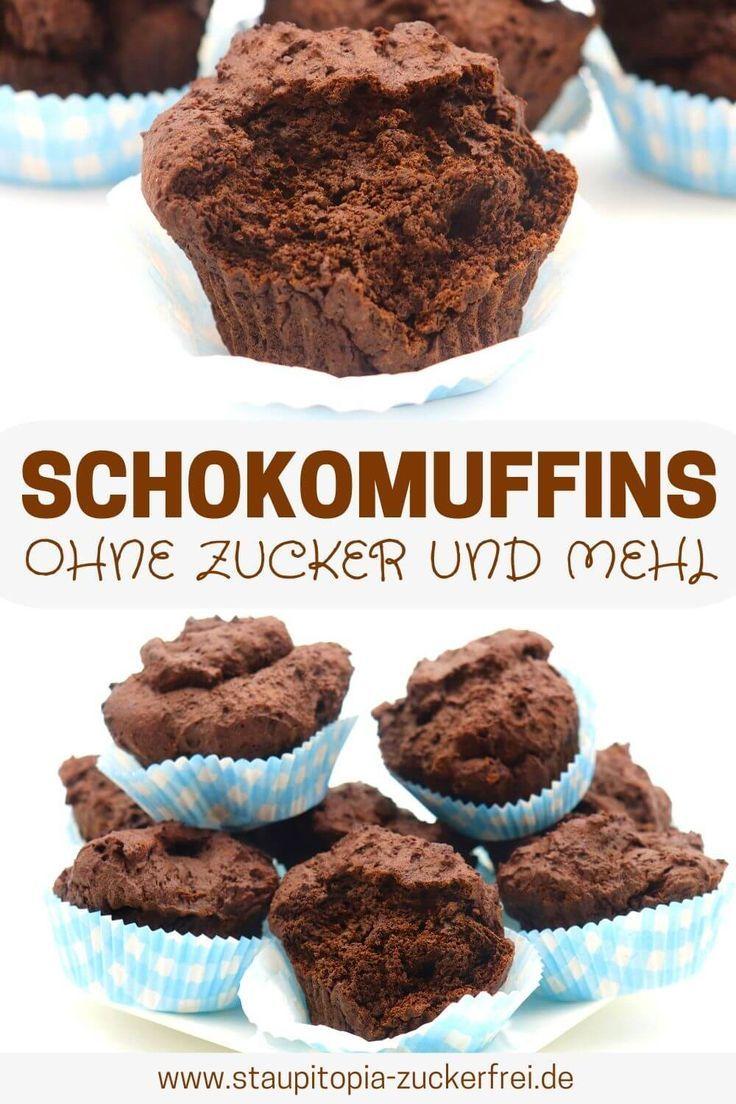 Low Carb Schokomuffins – Kuchen, Torten, Muffins, Cupcakes naschen mit der Erdbeerqueen