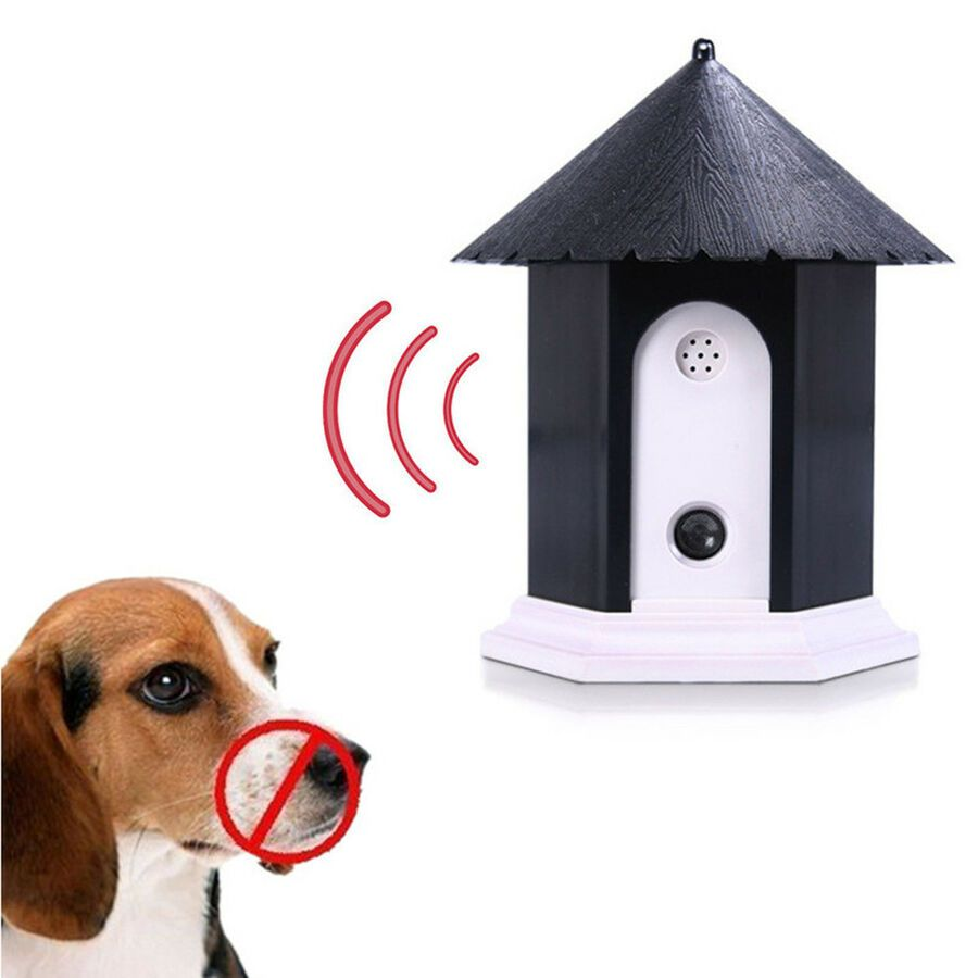 Ultrasonic Anti Stop Barking Pet//Dog Train Repeller Control Trainer Device Puppy
