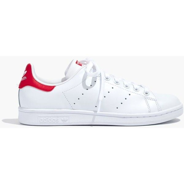 new style f7d0d fc0a5 purchase madewell adidas stan smith lace up sneakers 75 liked on 3533f c4714