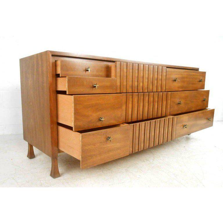 Best Mid Century Modern Bedroom Set By John Widdicomb Set Of 400 x 300