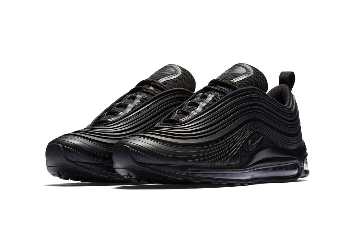 Nike Air Max 97 Ultra Arrives in Sleek All Black Design