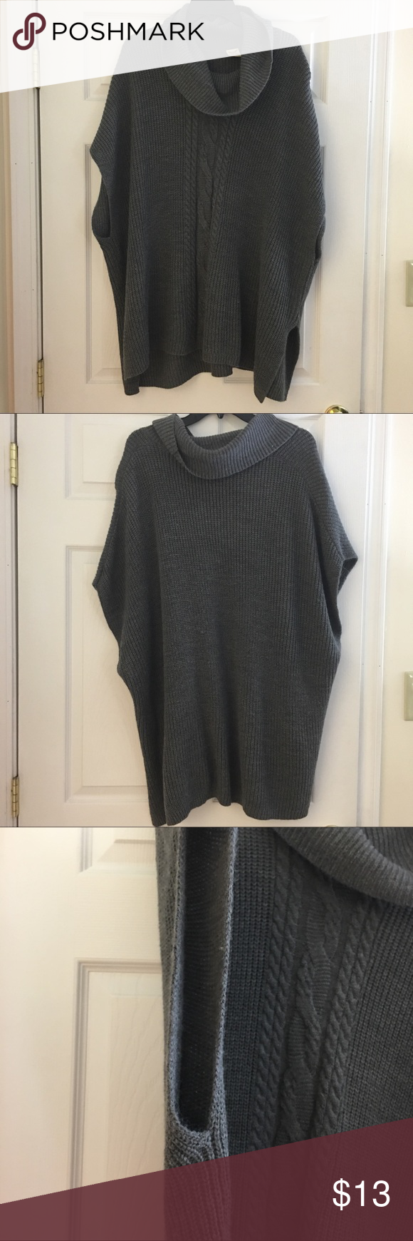 ✨ LIKE NEW Pull Over Sweater ✨ 🌟 PLEASE REFER TO THE PICTURES, LET ME KNOW IF YOU HAVE ANY QUESTIONS & OFFERS WANTED! ❤️💋 Faded Glory Sweaters Shrugs & Ponchos