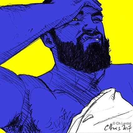 Post-it Portrait by Christophe LARDOT                      Happy Birthday JM ;-) @_jmalvarez_  #malefashion #popart #popartstyle #pencilsketch #digitalart #postitportrait #postitart #postitportraitsbychristophelardot #portrait #portraiture #blue #blueboy #beard #bearded #beardgang #beardvillains #male #malemodel #sexyman #sexy #kleinblue #expression #expression #sketchoftheday #art #artwork #arte #artpiece #christophelardot