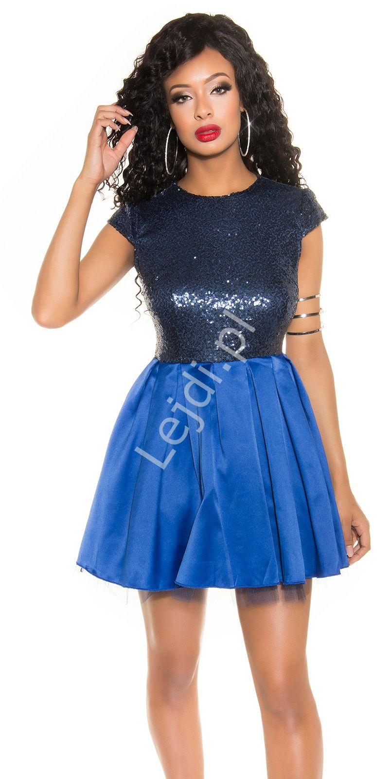 9fafb92a6a Sukienka cekinowa na sylwestra